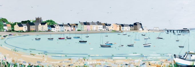 Gallows Point, Beaumaris - by Janet Bell